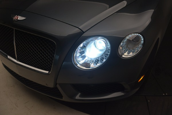 Used 2013 Bentley Continental GT V8 Le Mans Edition, 1 of 48 for sale Sold at Alfa Romeo of Westport in Westport CT 06880 28
