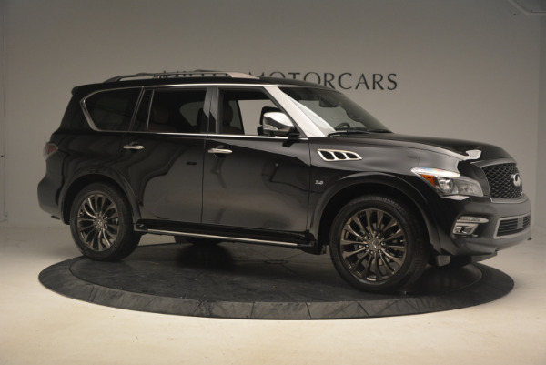 Used 2015 INFINITI QX80 Limited 4WD for sale Sold at Alfa Romeo of Westport in Westport CT 06880 10