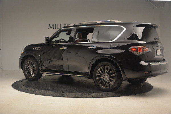 Used 2015 INFINITI QX80 Limited 4WD for sale Sold at Alfa Romeo of Westport in Westport CT 06880 4
