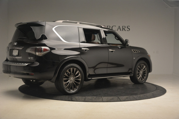 Used 2015 INFINITI QX80 Limited 4WD for sale Sold at Alfa Romeo of Westport in Westport CT 06880 8