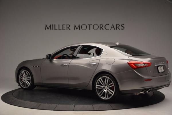 Used 2015 Maserati Ghibli S Q4 for sale Sold at Alfa Romeo of Westport in Westport CT 06880 4
