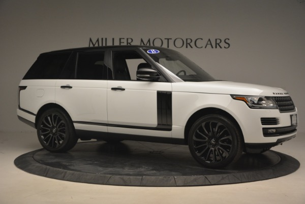 Used 2015 Land Rover Range Rover Supercharged for sale Sold at Alfa Romeo of Westport in Westport CT 06880 10