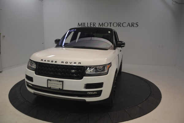 Used 2015 Land Rover Range Rover Supercharged for sale Sold at Alfa Romeo of Westport in Westport CT 06880 13