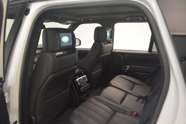 Used 2015 Land Rover Range Rover Supercharged for sale Sold at Alfa Romeo of Westport in Westport CT 06880 22