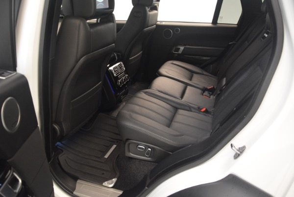 Used 2015 Land Rover Range Rover Supercharged for sale Sold at Alfa Romeo of Westport in Westport CT 06880 23