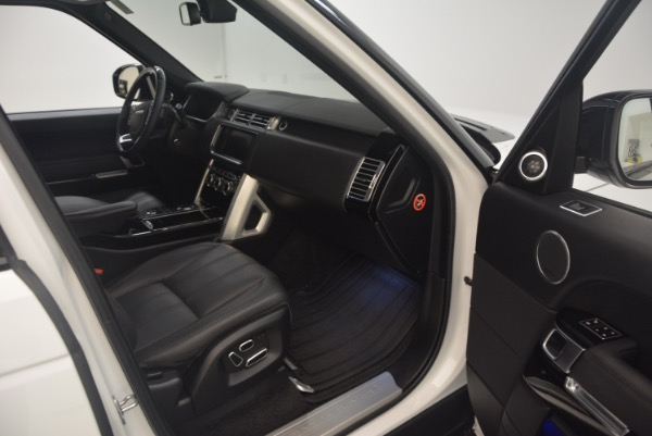 Used 2015 Land Rover Range Rover Supercharged for sale Sold at Alfa Romeo of Westport in Westport CT 06880 28