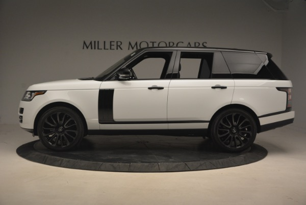 Used 2015 Land Rover Range Rover Supercharged for sale Sold at Alfa Romeo of Westport in Westport CT 06880 3