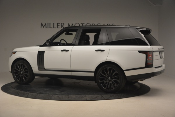 Used 2015 Land Rover Range Rover Supercharged for sale Sold at Alfa Romeo of Westport in Westport CT 06880 4