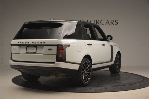 Used 2015 Land Rover Range Rover Supercharged for sale Sold at Alfa Romeo of Westport in Westport CT 06880 7