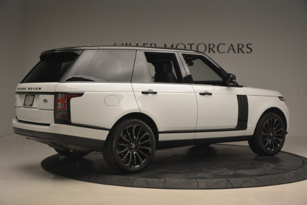 Used 2015 Land Rover Range Rover Supercharged for sale Sold at Alfa Romeo of Westport in Westport CT 06880 8
