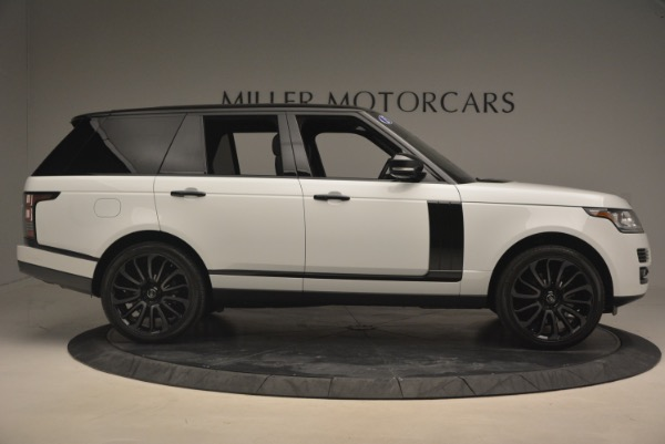 Used 2015 Land Rover Range Rover Supercharged for sale Sold at Alfa Romeo of Westport in Westport CT 06880 9