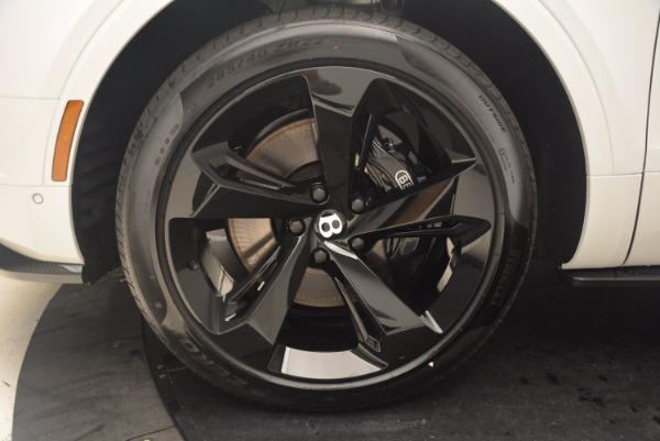 Used 2018 Bentley Bentayga Black Edition for sale Sold at Alfa Romeo of Westport in Westport CT 06880 24
