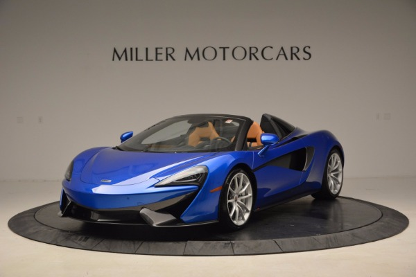Used 2018 McLaren 570S Spider for sale Sold at Alfa Romeo of Westport in Westport CT 06880 2