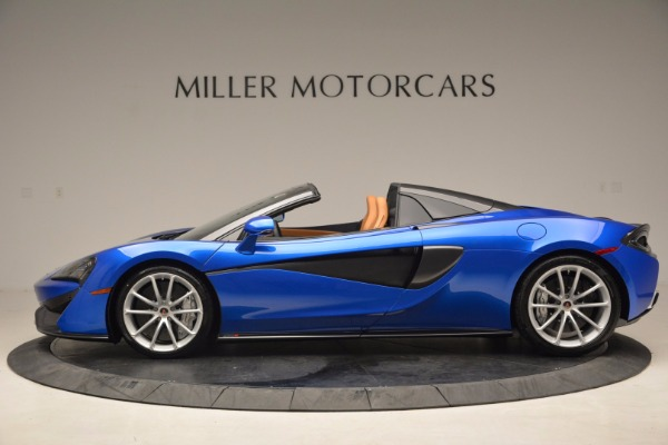 Used 2018 McLaren 570S Spider for sale Sold at Alfa Romeo of Westport in Westport CT 06880 3