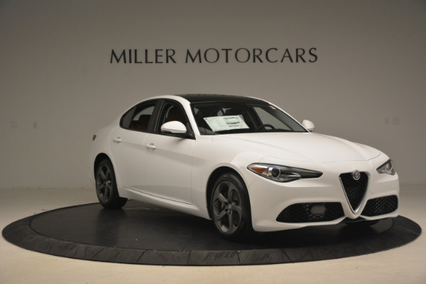 New 2017 Alfa Romeo Giulia Q4 for sale Sold at Alfa Romeo of Westport in Westport CT 06880 11