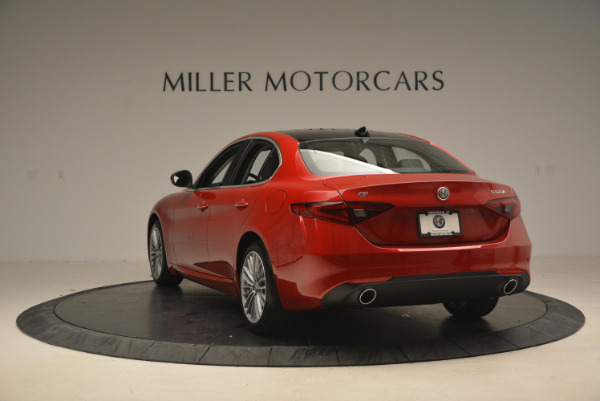 New 2017 Alfa Romeo Giulia Ti Q4 for sale Sold at Alfa Romeo of Westport in Westport CT 06880 5