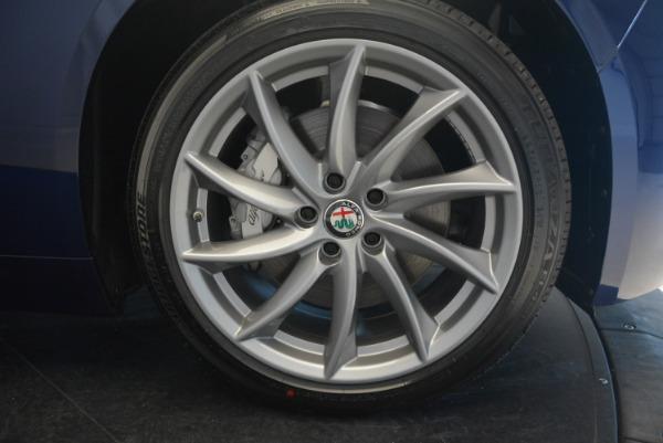 New 2017 Alfa Romeo Giulia Q4 for sale Sold at Alfa Romeo of Westport in Westport CT 06880 21