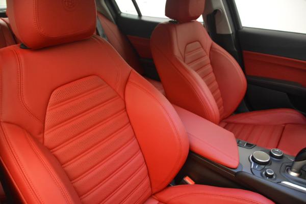 New 2017 Alfa Romeo Giulia Ti Q4 for sale Sold at Alfa Romeo of Westport in Westport CT 06880 21