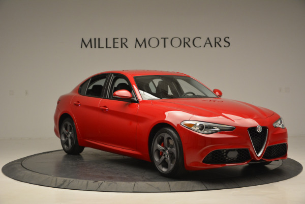 New 2017 Alfa Romeo Giulia Sport Q4 for sale Sold at Alfa Romeo of Westport in Westport CT 06880 11