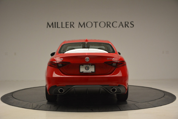New 2017 Alfa Romeo Giulia Sport Q4 for sale Sold at Alfa Romeo of Westport in Westport CT 06880 6