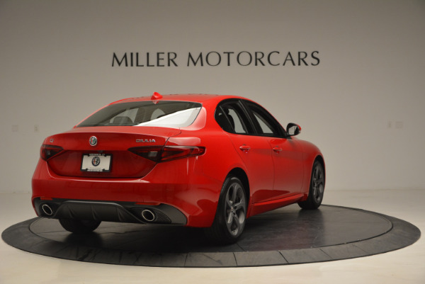 New 2017 Alfa Romeo Giulia Sport Q4 for sale Sold at Alfa Romeo of Westport in Westport CT 06880 7