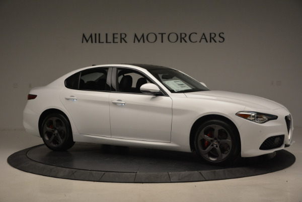 New 2017 Alfa Romeo Giulia Ti Sport Q4 for sale Sold at Alfa Romeo of Westport in Westport CT 06880 10