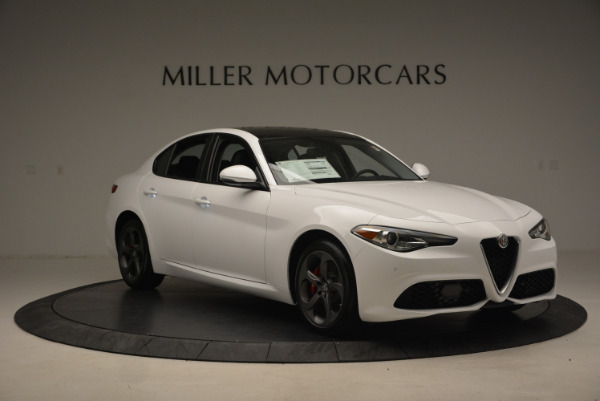 New 2017 Alfa Romeo Giulia Ti Sport Q4 for sale Sold at Alfa Romeo of Westport in Westport CT 06880 11