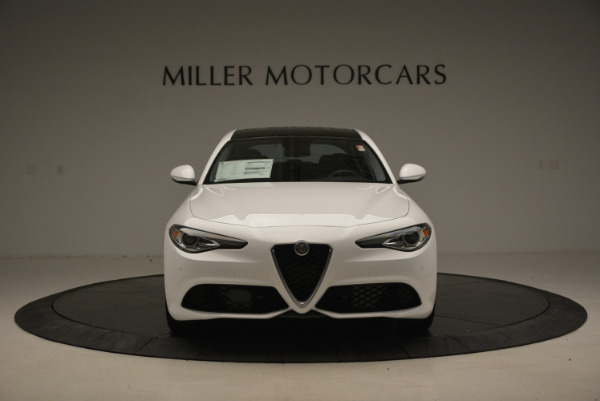 New 2017 Alfa Romeo Giulia Ti Sport Q4 for sale Sold at Alfa Romeo of Westport in Westport CT 06880 12