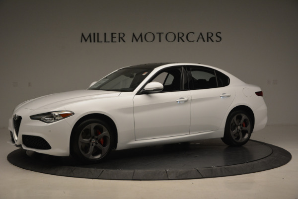 New 2017 Alfa Romeo Giulia Ti Sport Q4 for sale Sold at Alfa Romeo of Westport in Westport CT 06880 2