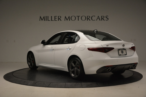 New 2017 Alfa Romeo Giulia Ti Sport Q4 for sale Sold at Alfa Romeo of Westport in Westport CT 06880 5