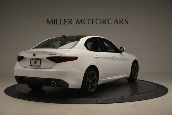 New 2017 Alfa Romeo Giulia Ti Sport Q4 for sale Sold at Alfa Romeo of Westport in Westport CT 06880 7