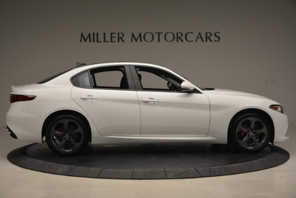 New 2017 Alfa Romeo Giulia Ti Sport Q4 for sale Sold at Alfa Romeo of Westport in Westport CT 06880 9