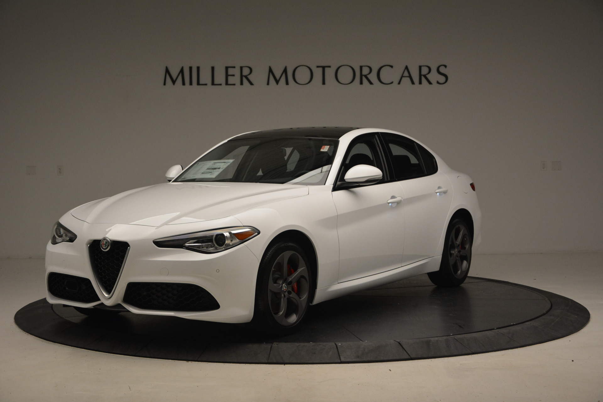 New 2017 Alfa Romeo Giulia Ti Sport Q4 for sale Sold at Alfa Romeo of Westport in Westport CT 06880 1