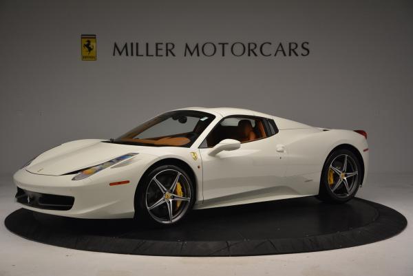 Used 2012 Ferrari 458 Spider for sale Sold at Alfa Romeo of Westport in Westport CT 06880 14