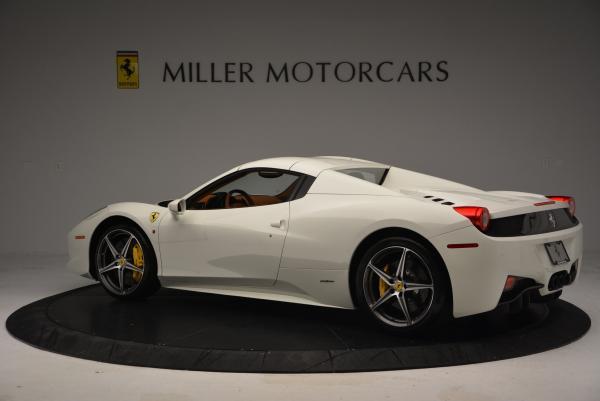 Used 2012 Ferrari 458 Spider for sale Sold at Alfa Romeo of Westport in Westport CT 06880 16