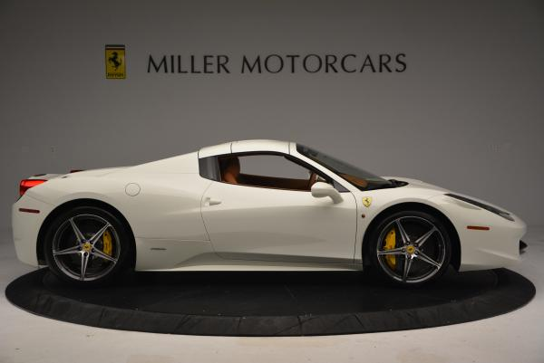 Used 2012 Ferrari 458 Spider for sale Sold at Alfa Romeo of Westport in Westport CT 06880 21