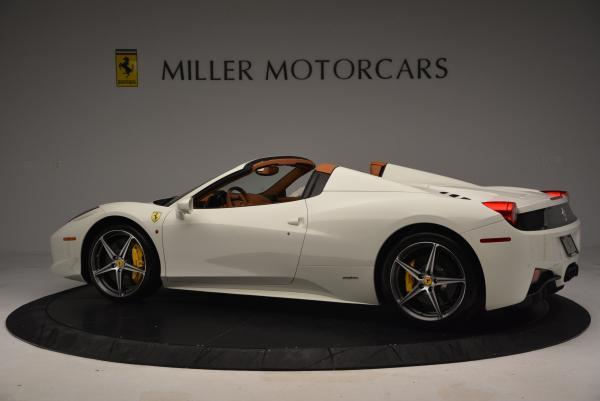 Used 2012 Ferrari 458 Spider for sale Sold at Alfa Romeo of Westport in Westport CT 06880 4