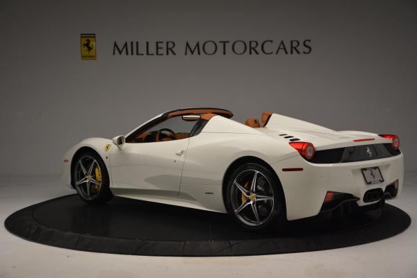 Used 2012 Ferrari 458 Spider for sale Sold at Alfa Romeo of Westport in Westport CT 06880 5