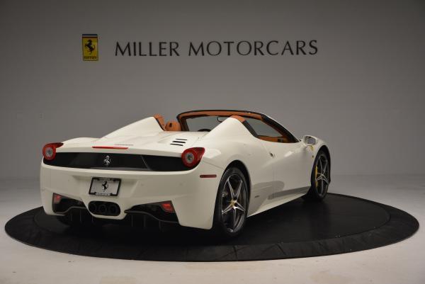 Used 2012 Ferrari 458 Spider for sale Sold at Alfa Romeo of Westport in Westport CT 06880 7