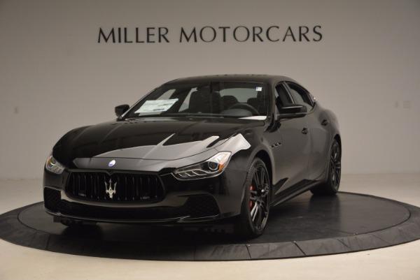 New 2017 Maserati Ghibli SQ4 S Q4 Nerissimo Edition for sale Sold at Alfa Romeo of Westport in Westport CT 06880 1