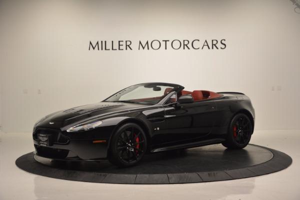 Used 2015 Aston Martin V12 Vantage S Roadster for sale Sold at Alfa Romeo of Westport in Westport CT 06880 2