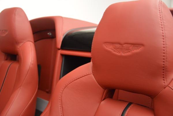 Used 2015 Aston Martin V12 Vantage S Roadster for sale Sold at Alfa Romeo of Westport in Westport CT 06880 24