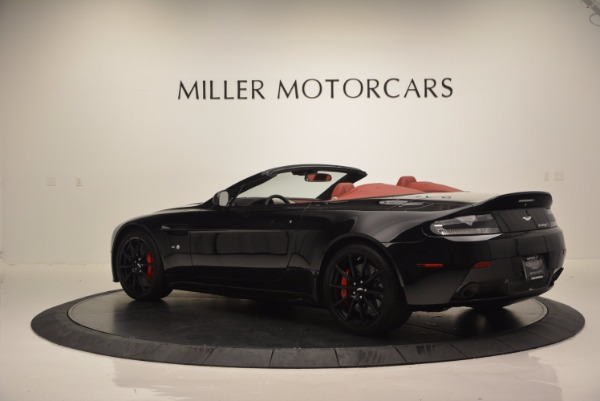 Used 2015 Aston Martin V12 Vantage S Roadster for sale Sold at Alfa Romeo of Westport in Westport CT 06880 4