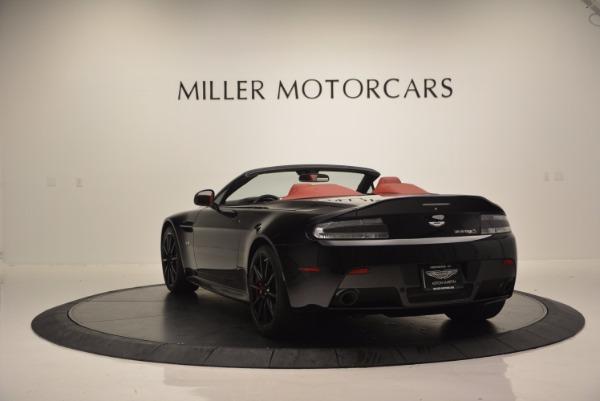 Used 2015 Aston Martin V12 Vantage S Roadster for sale Sold at Alfa Romeo of Westport in Westport CT 06880 5
