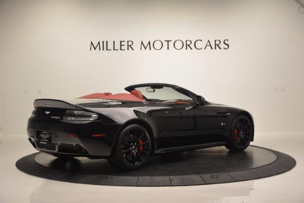 Used 2015 Aston Martin V12 Vantage S Roadster for sale Sold at Alfa Romeo of Westport in Westport CT 06880 8