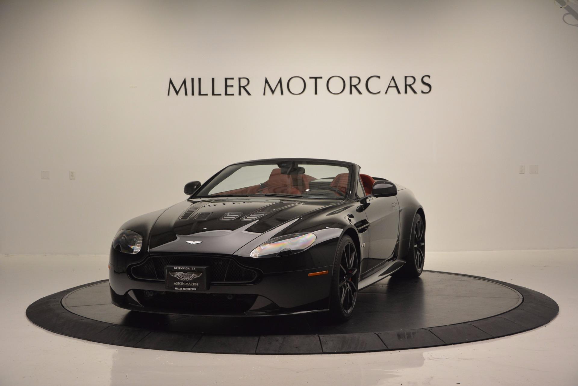 Used 2015 Aston Martin V12 Vantage S Roadster for sale Sold at Alfa Romeo of Westport in Westport CT 06880 1