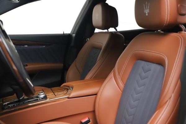 Used 2017 Maserati Quattroporte SQ4 GranLusso/ Zegna for sale $62,900 at Alfa Romeo of Westport in Westport CT 06880 15