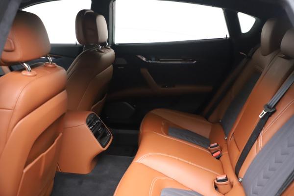 Used 2017 Maserati Quattroporte SQ4 GranLusso/ Zegna for sale $62,900 at Alfa Romeo of Westport in Westport CT 06880 18