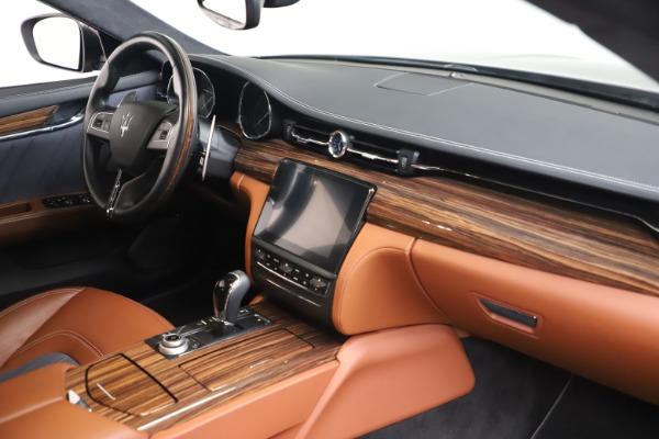 Used 2017 Maserati Quattroporte SQ4 GranLusso/ Zegna for sale $62,900 at Alfa Romeo of Westport in Westport CT 06880 19