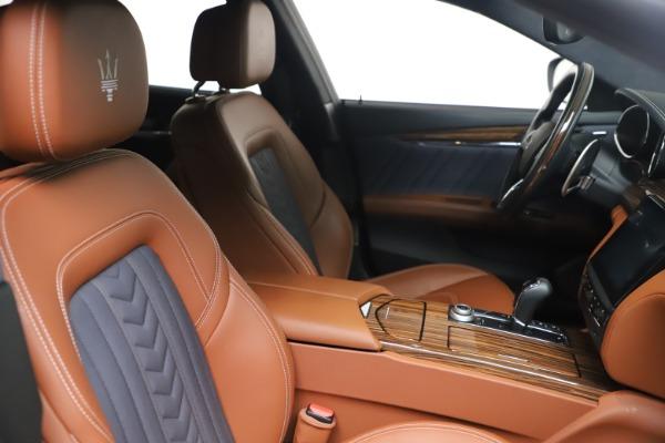 Used 2017 Maserati Quattroporte SQ4 GranLusso/ Zegna for sale $62,900 at Alfa Romeo of Westport in Westport CT 06880 20